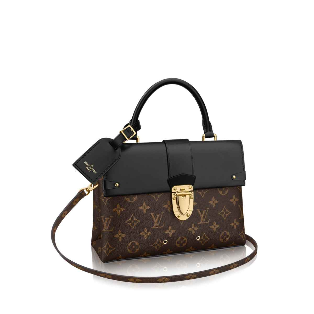 07cf434ce9ee M43125 Louis Vuitton 2018 Premium One Handle Flap Bag MM – eLuxury
