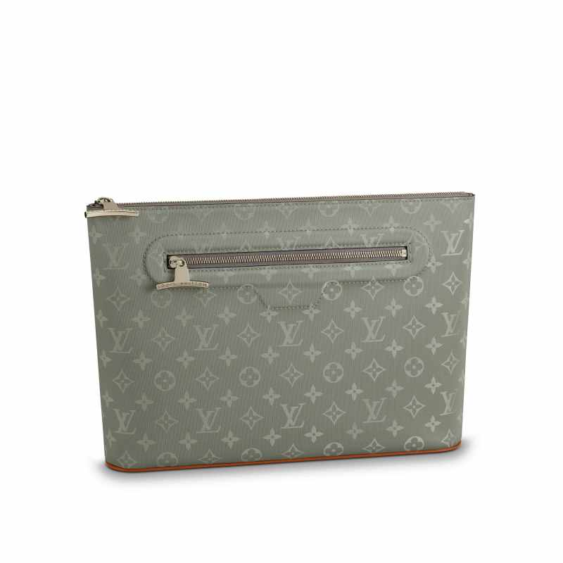 453780a4264c M63240 Louis Vuitton Fall-Winter 2018 Pochette Cosmos-Monogram Titanium